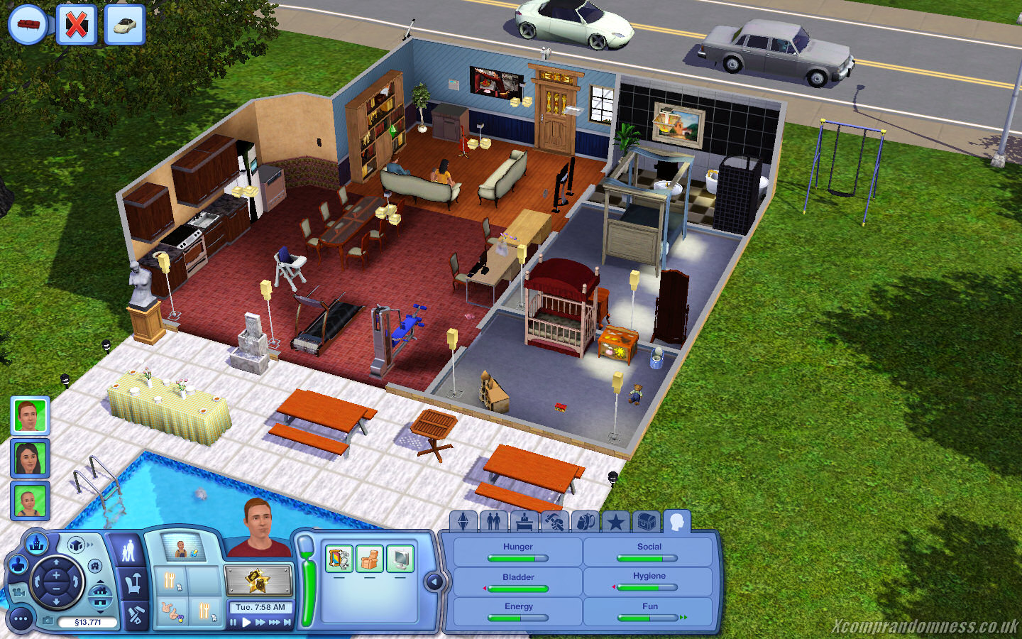 Screenshot ze hry The Sims 3