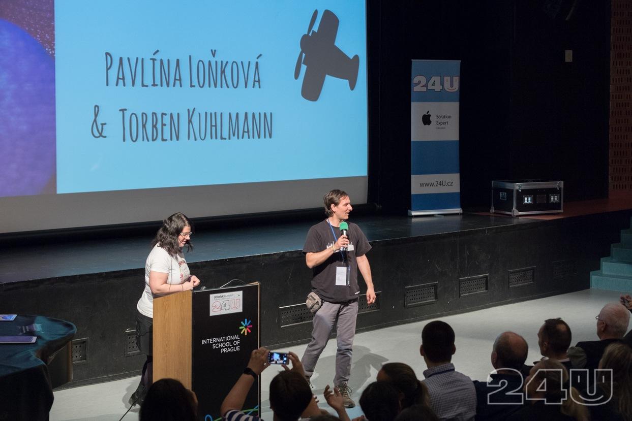 Tomáš Kováč a Pavlína Loňková