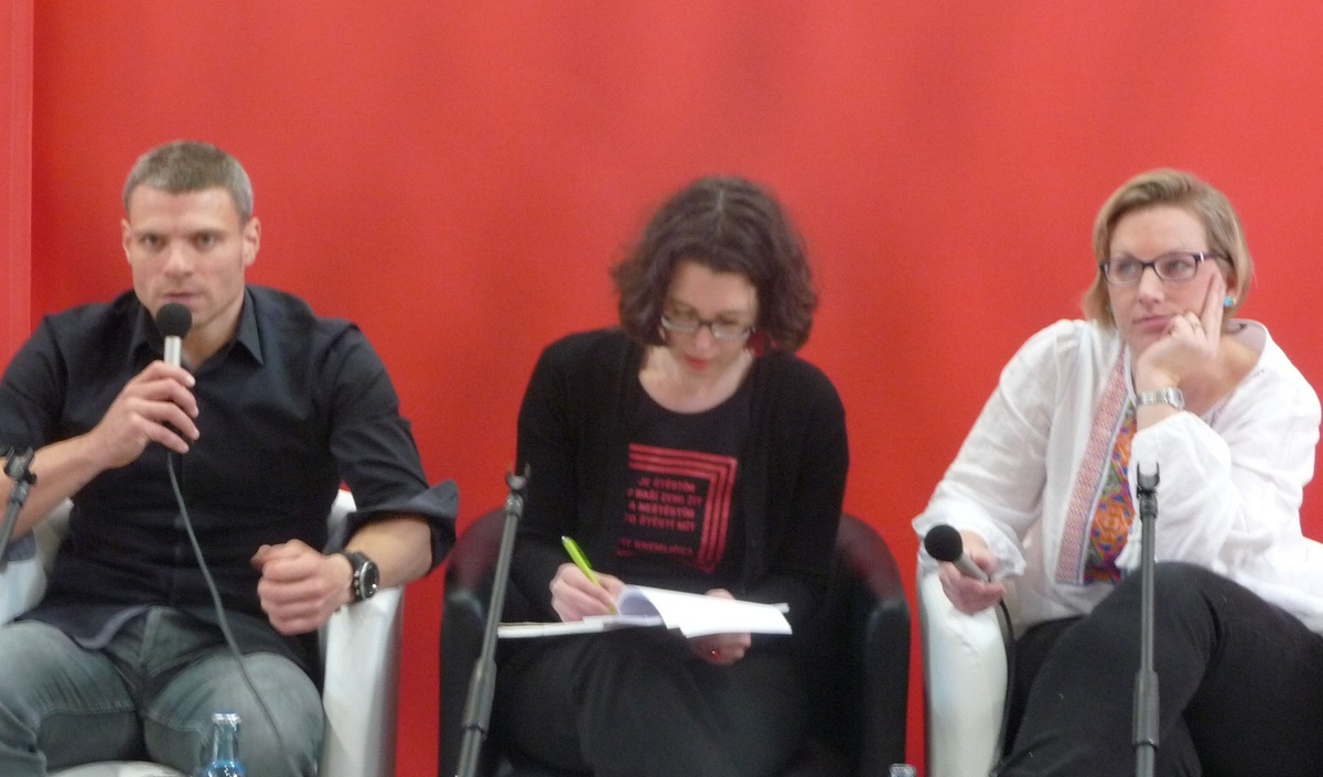 Diskusní panel s Tomášem Šebkem