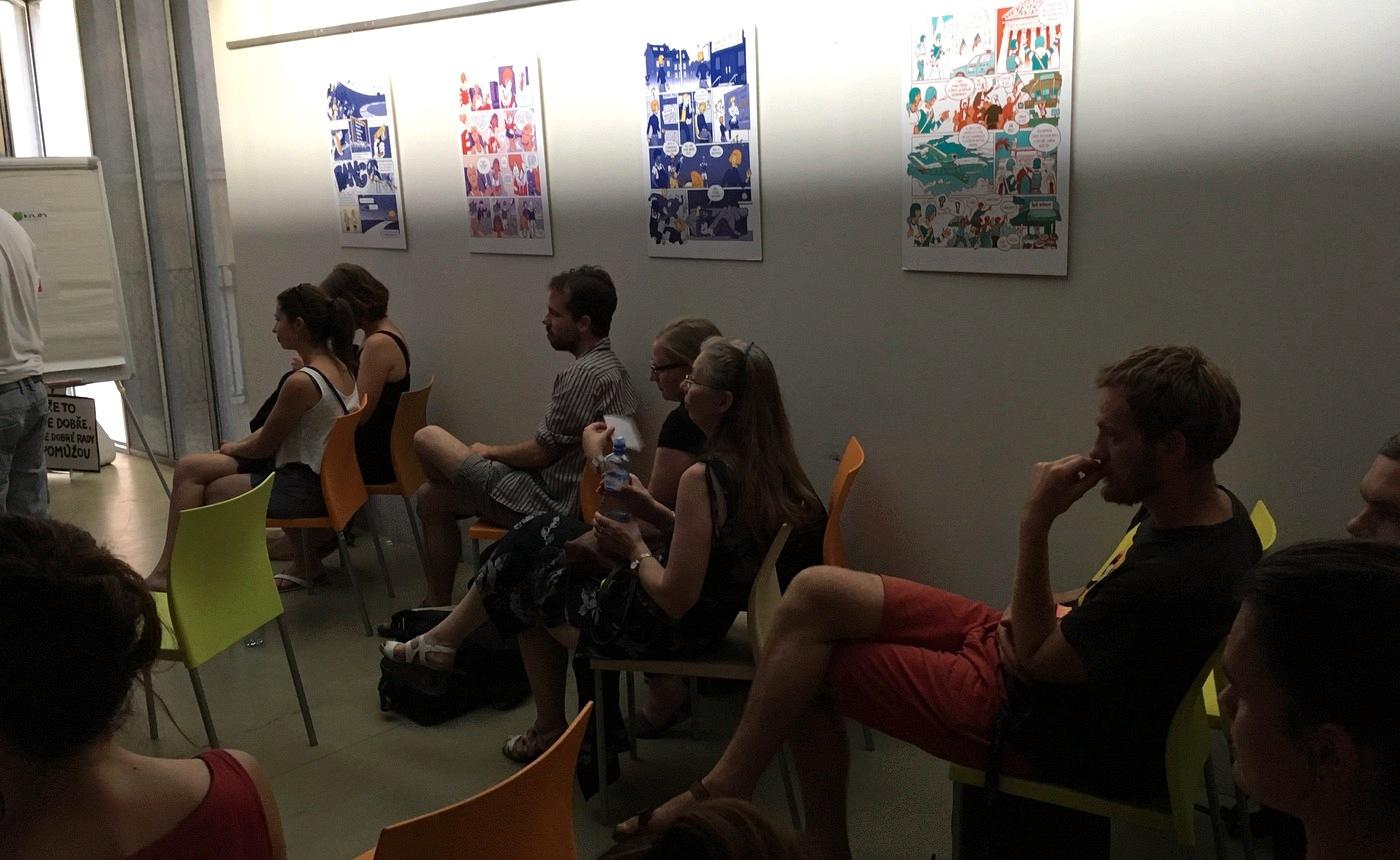 Diskuse ve druhé polovině Smart café