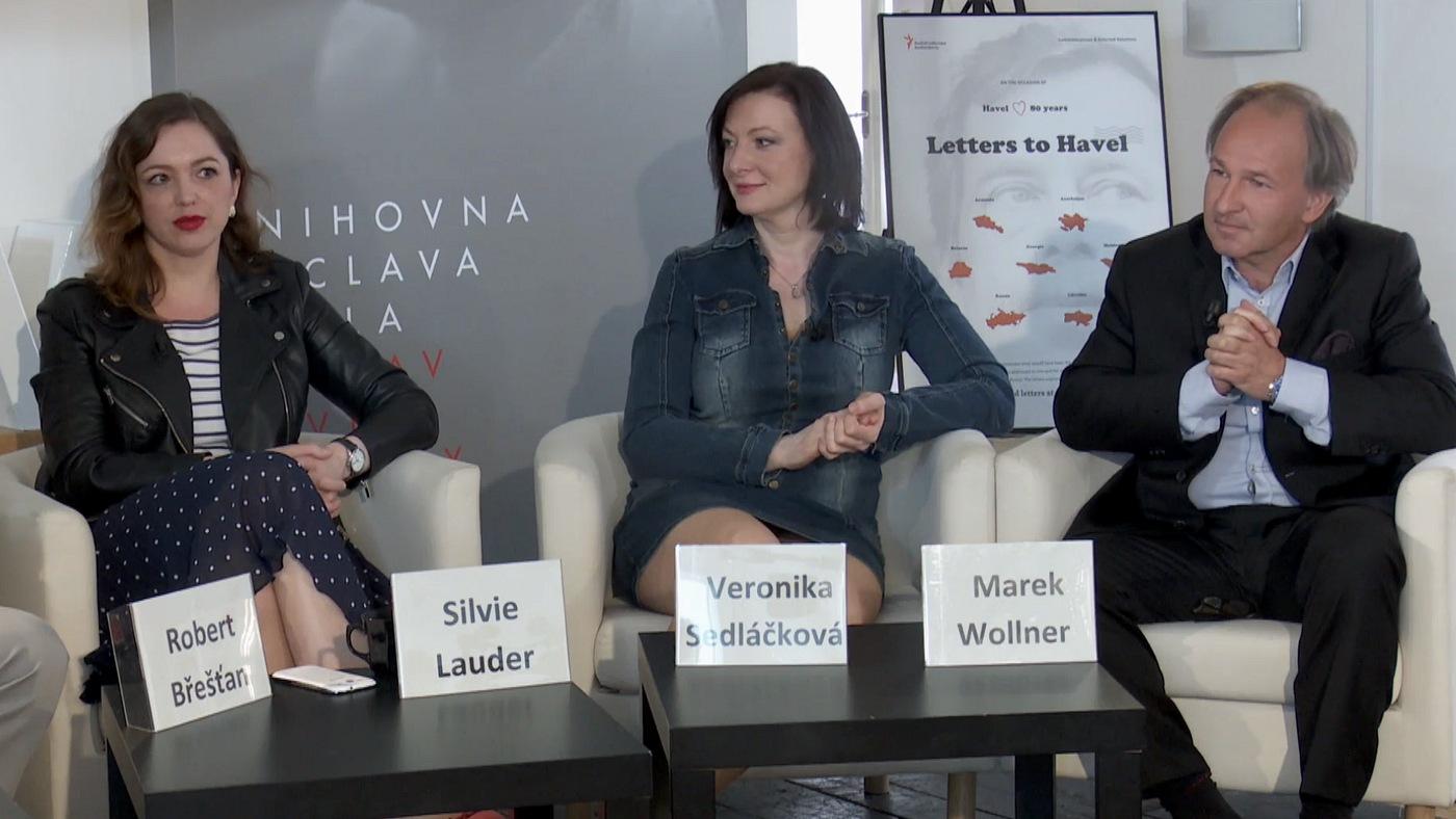 Silvie Lauder, Veronika Sedláčková a Marek Wollner