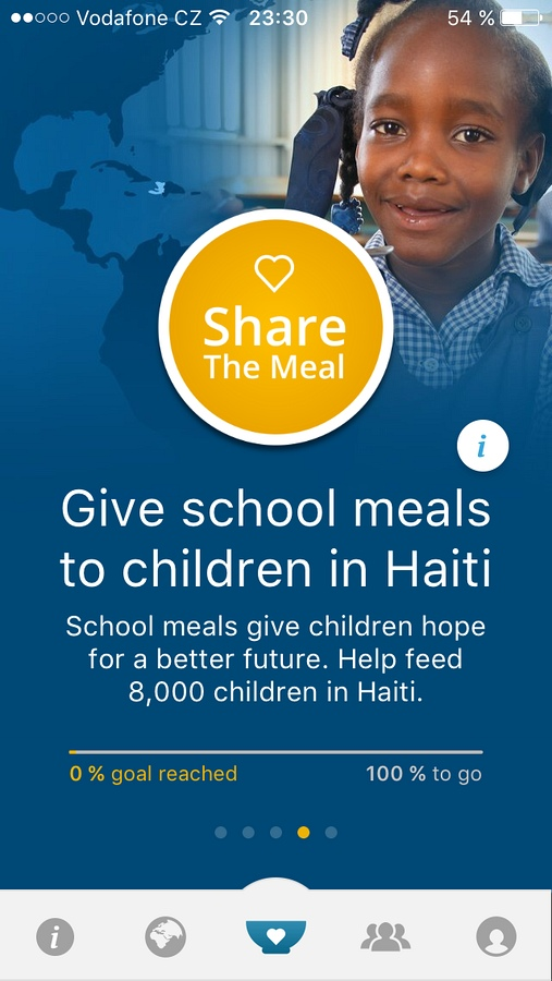 Share The Meal - informace o kampani
