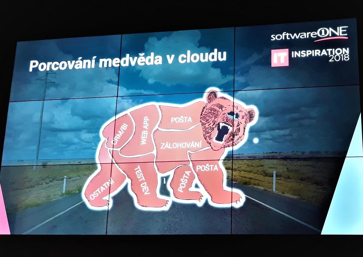 Porcování medvěda v cloudu