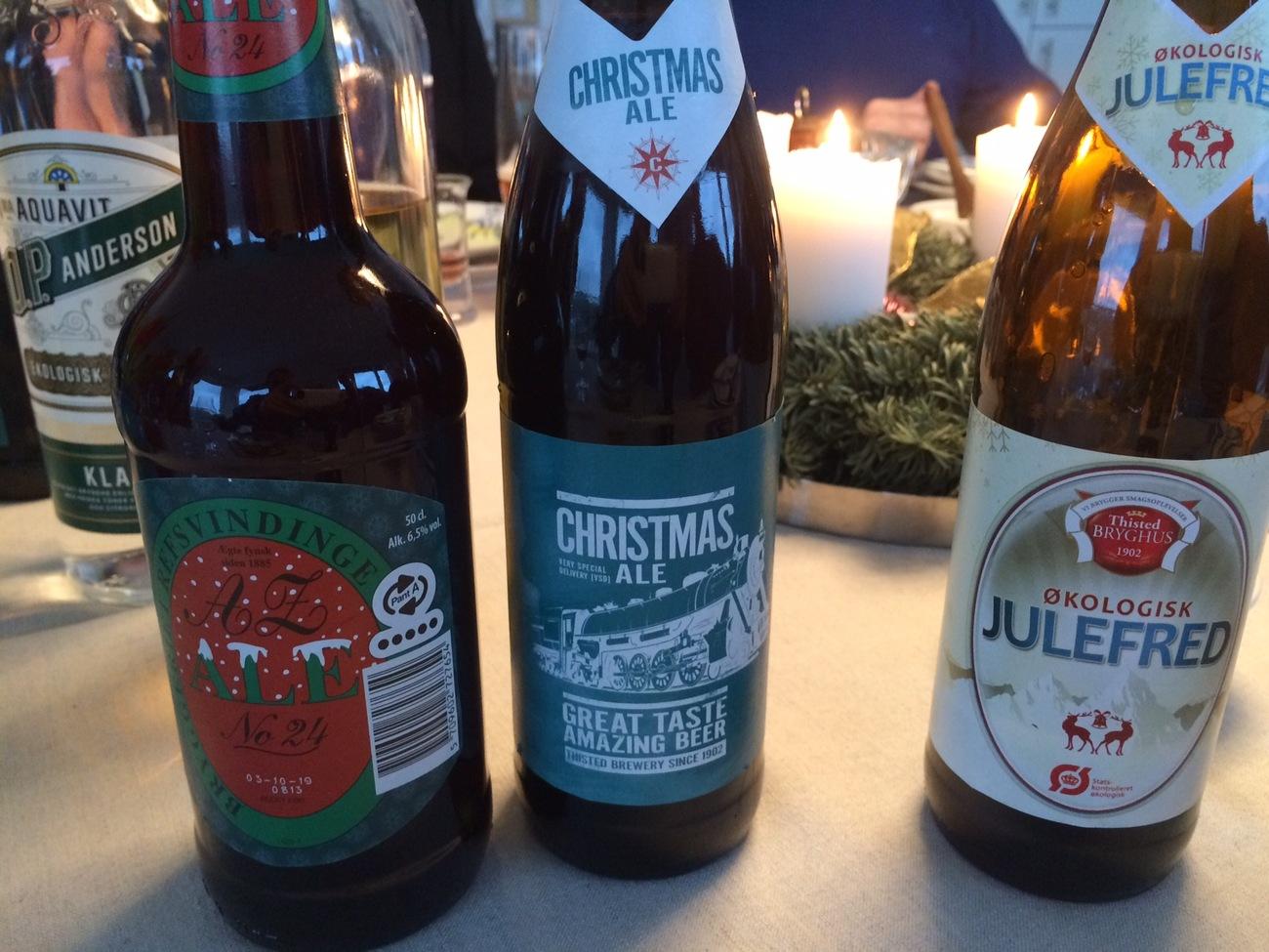 Láhve s dánskou živou vodou