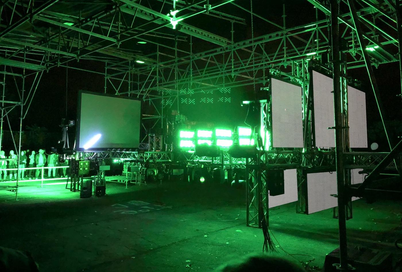 Hudební instalace Man Machine