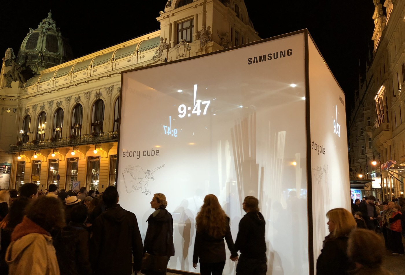 SAMSUNG Story Cube
