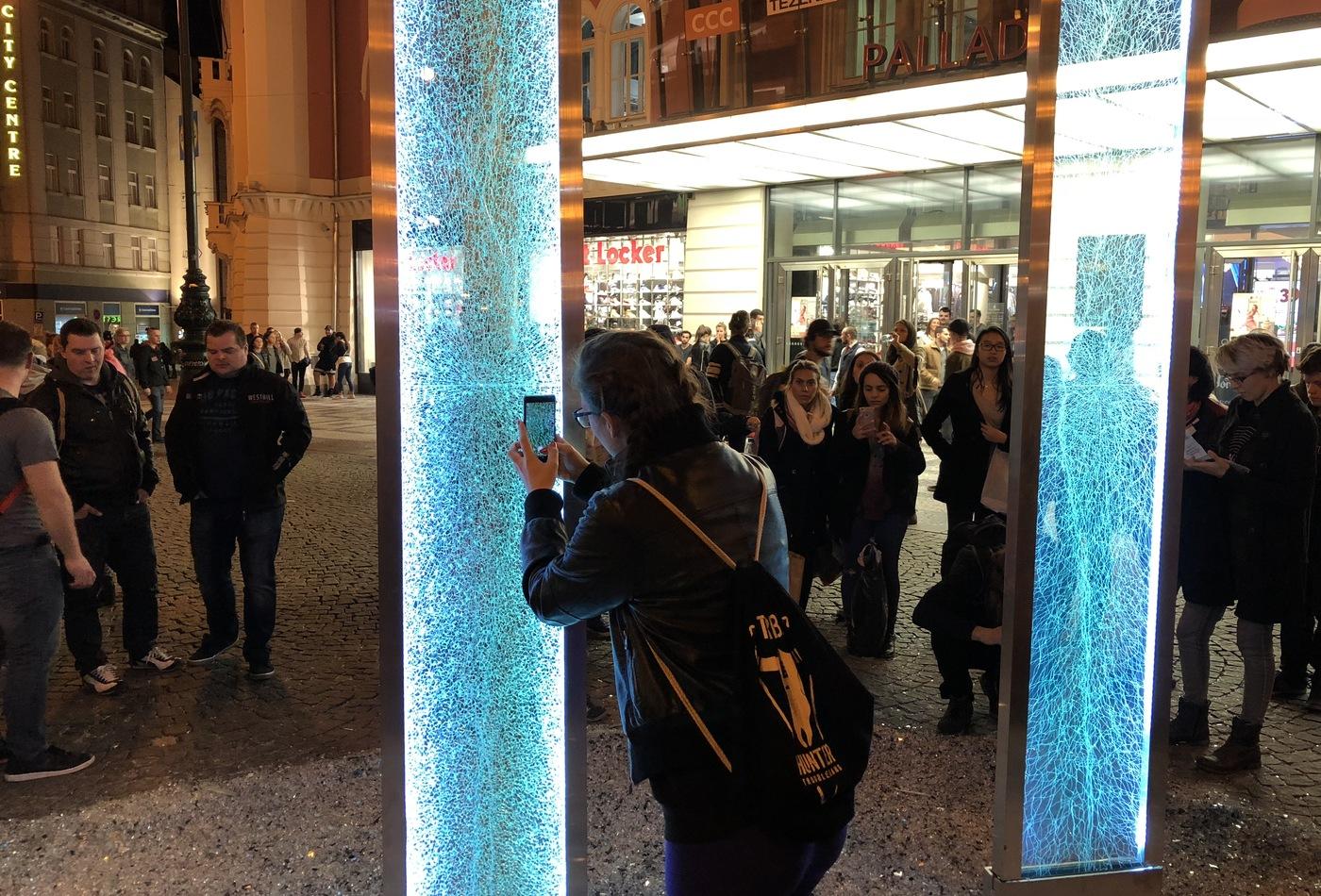 #glass na náměstí Republiky