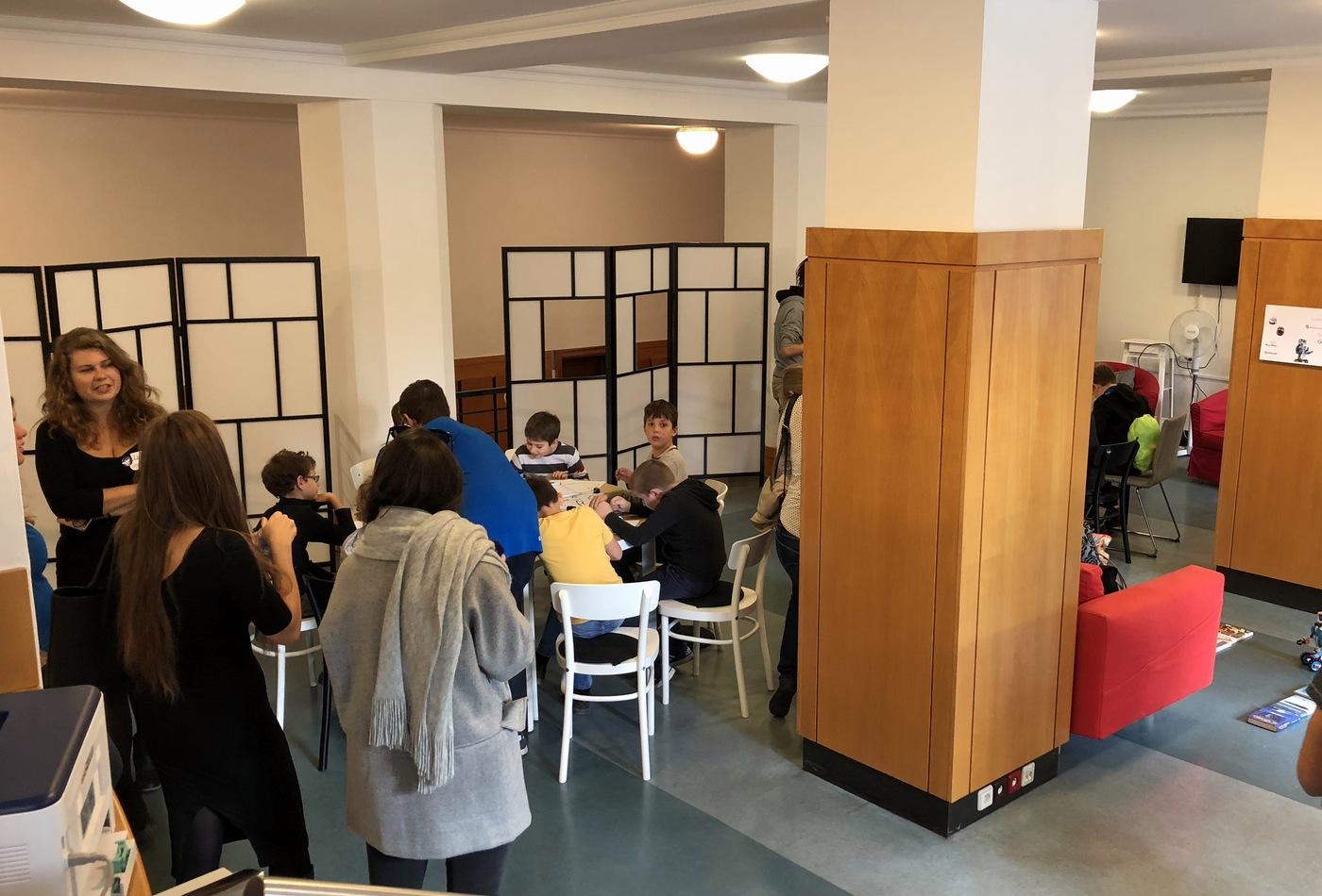 Jeden z workshopů v Dílně MKP