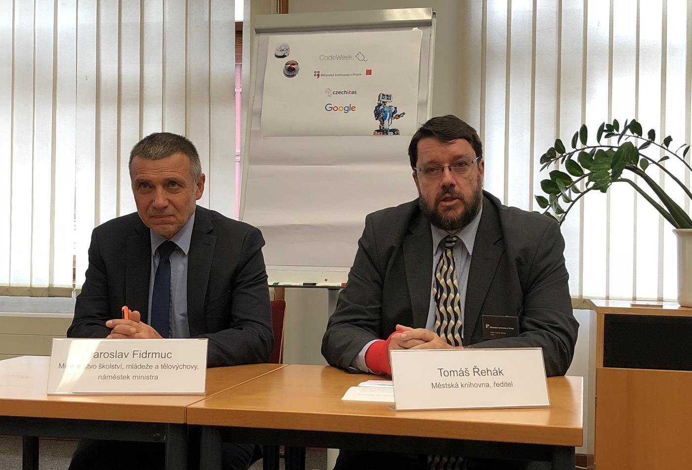 Jaroslav Fidrmuc a Tomáš Řehák