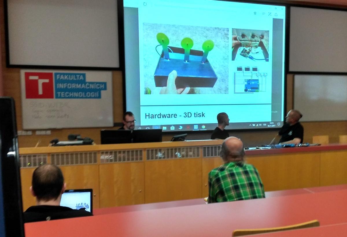 Přednáška o 3D tisku