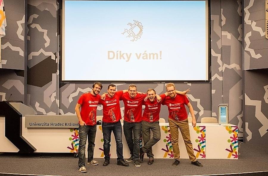 Organizátoři Barcampu Hradec Králové