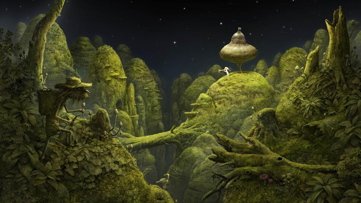 Ukázka ze hry Samorost