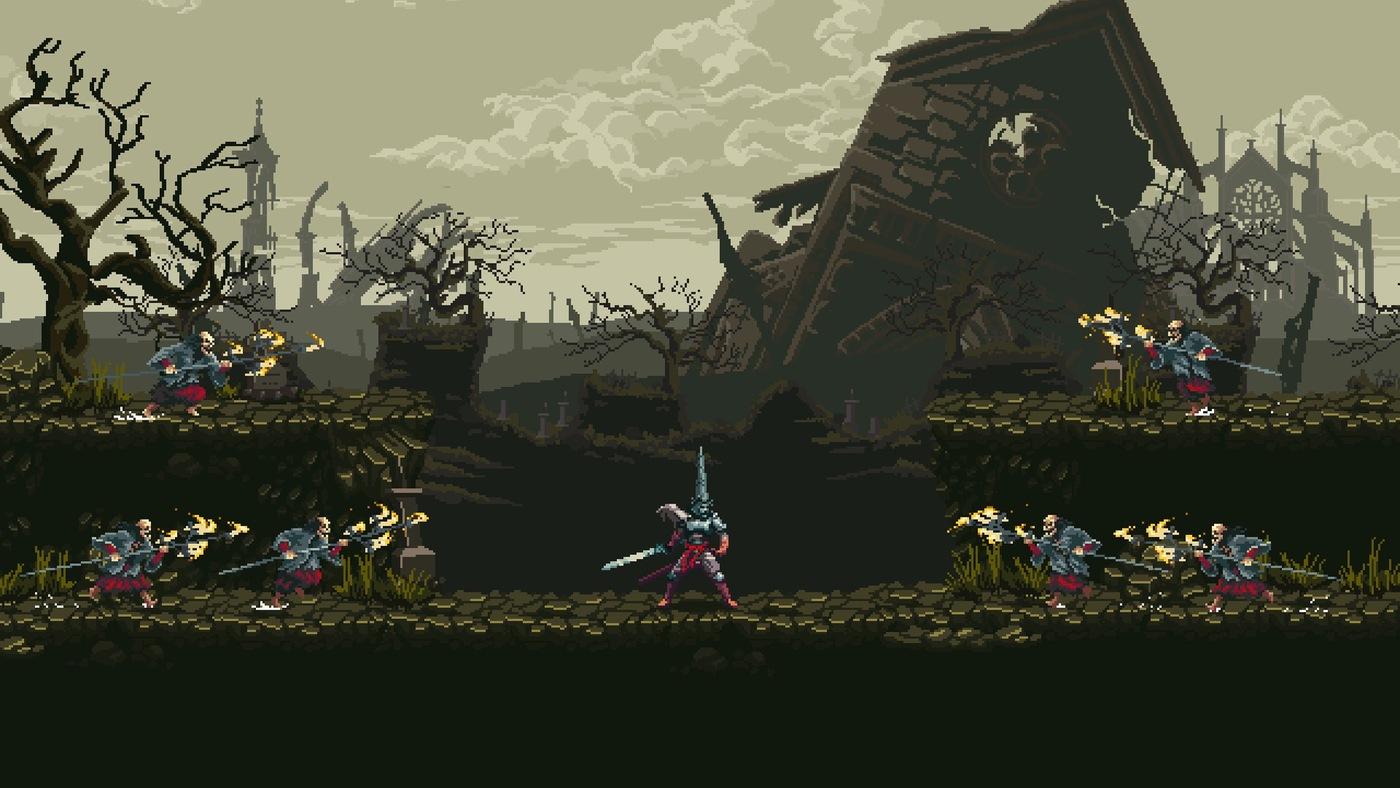 Ukázka ze hry Blasphemous
