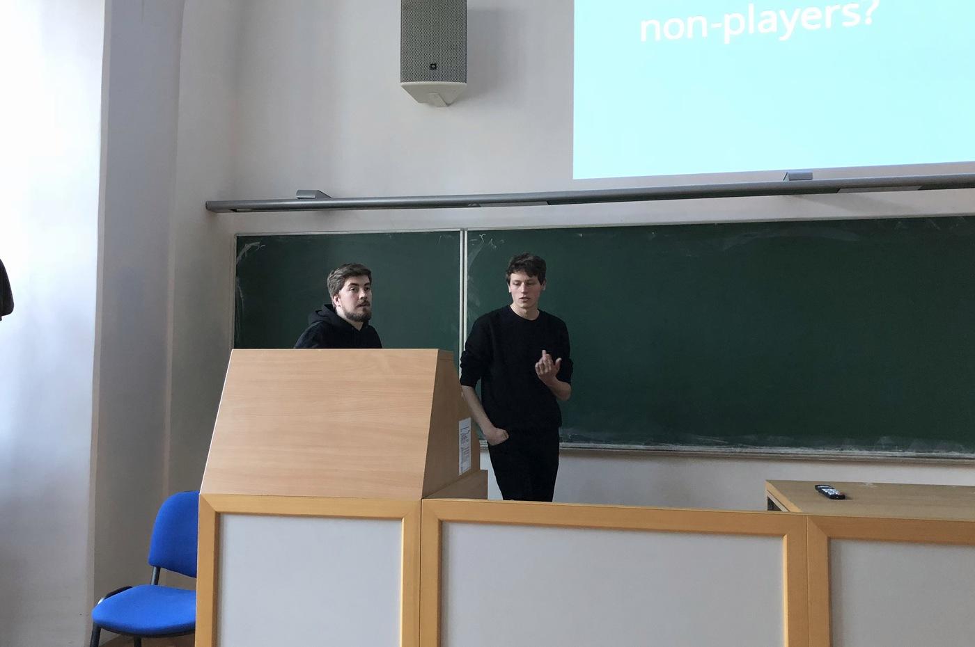 David Třebický a Ondřej Sliš