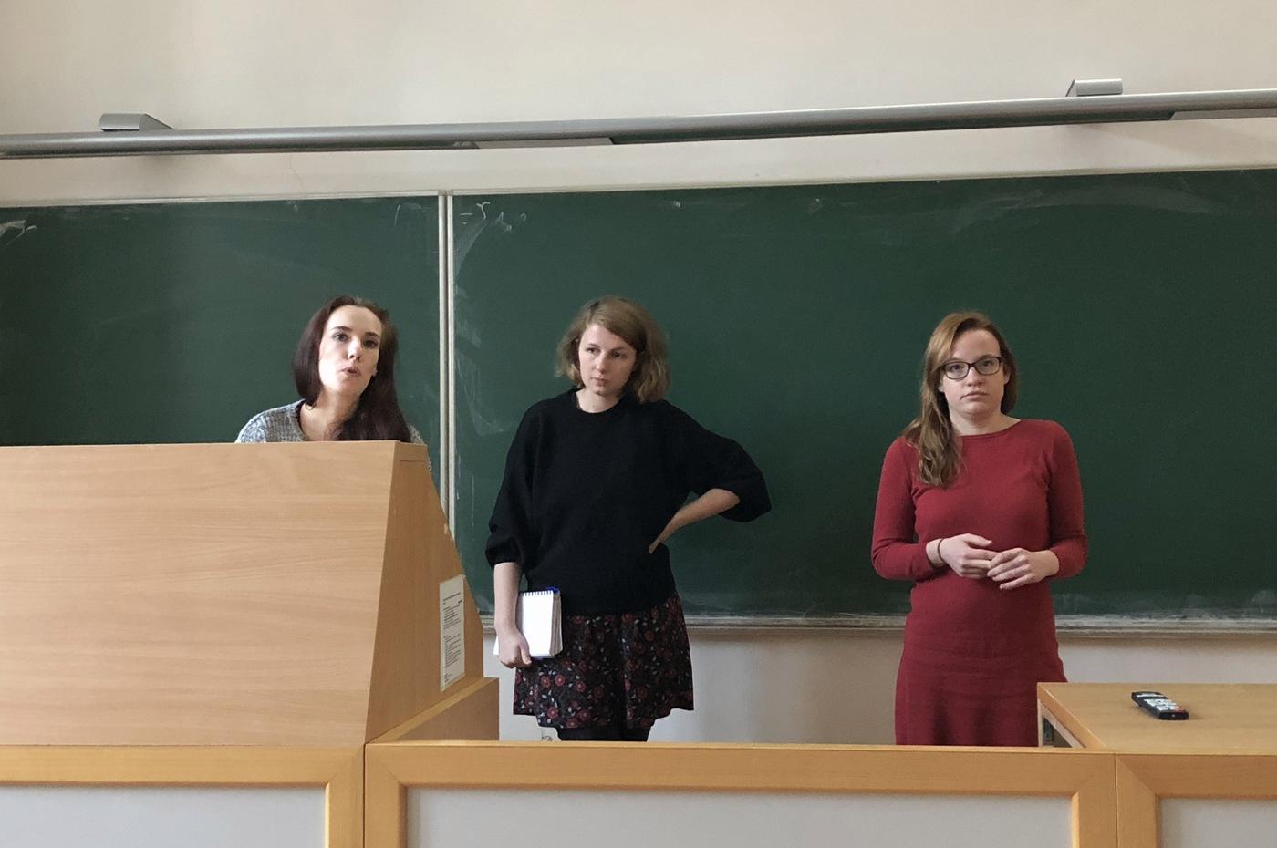 Aneta Martínková, Kateřina Nejedlá a Pavlína Plecitá