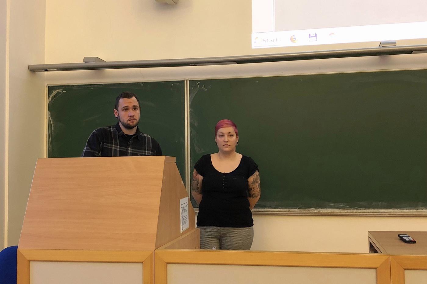 Jan Hlavín a Olga Marta Stolarczyk