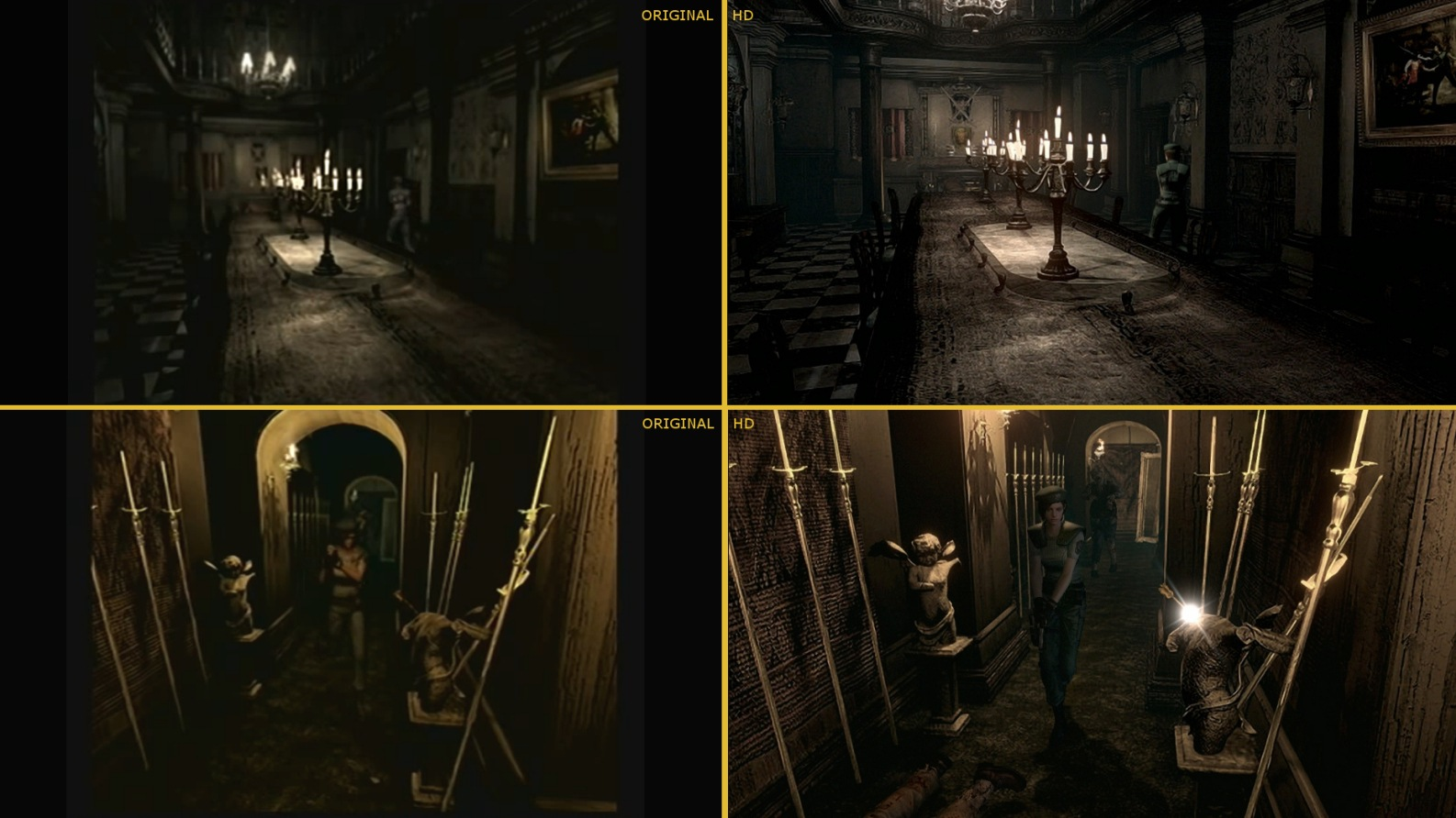 Porovnání původní verze hry Resident Evil a nedávného remaku