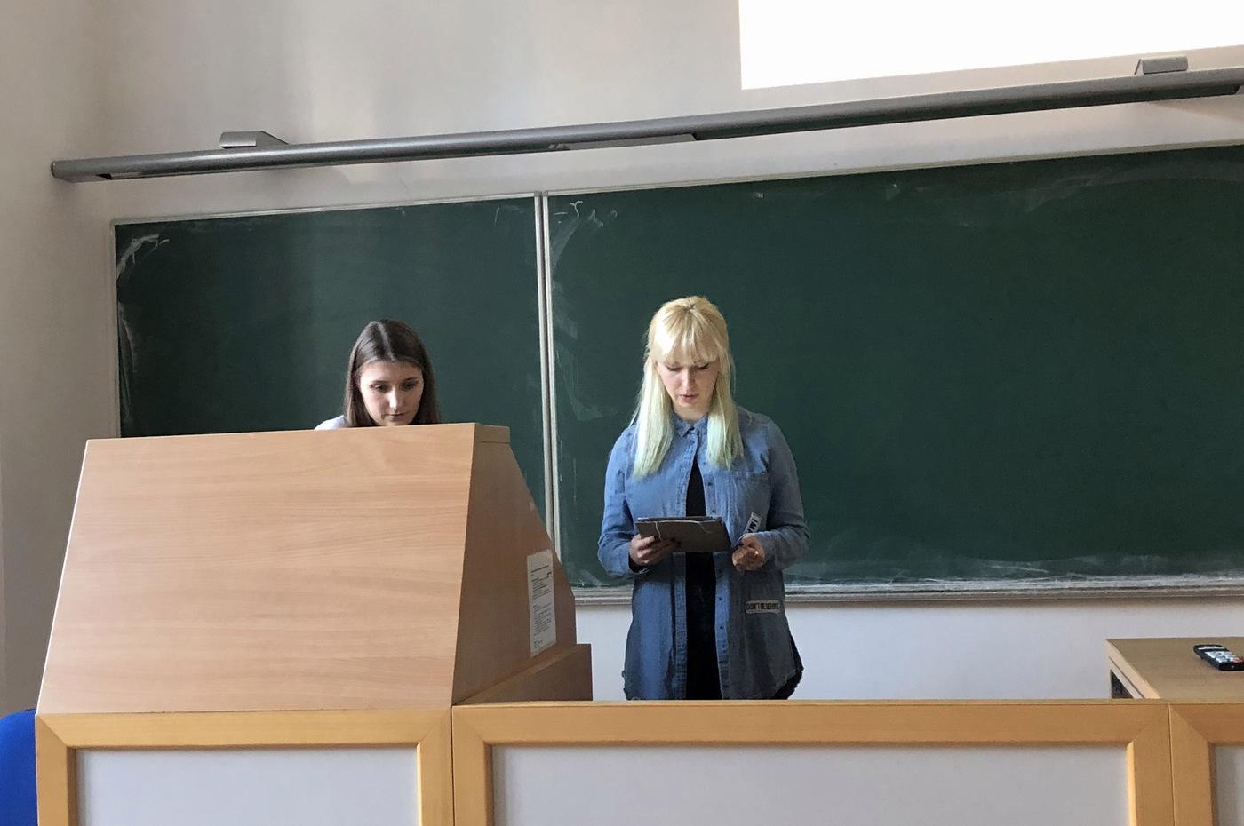 Olga Gerasimova a Anna Kasiura