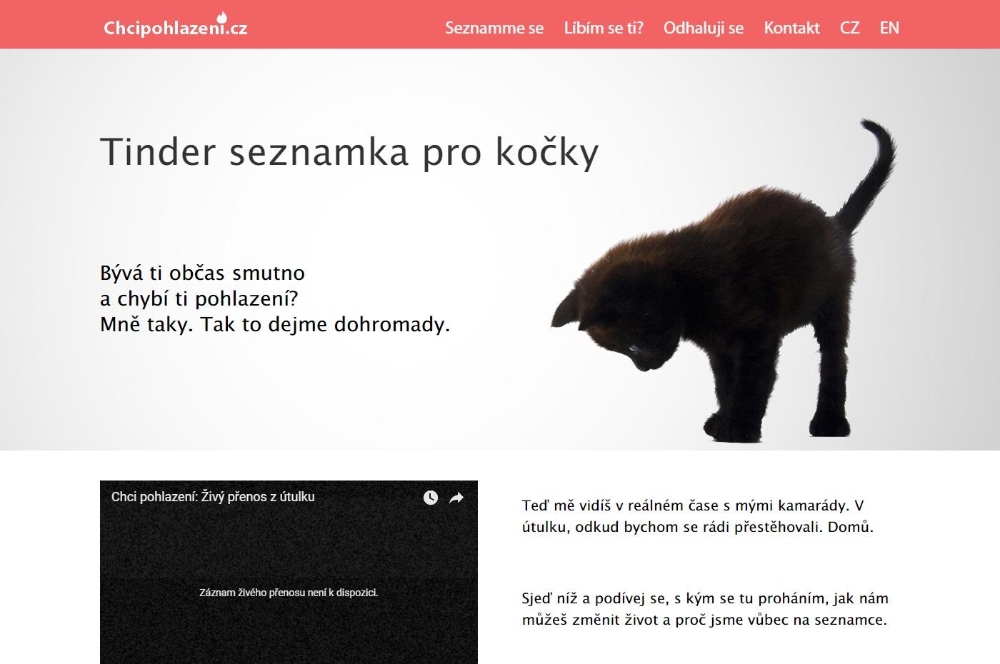 Webové stránky chcipohlazeni.cz