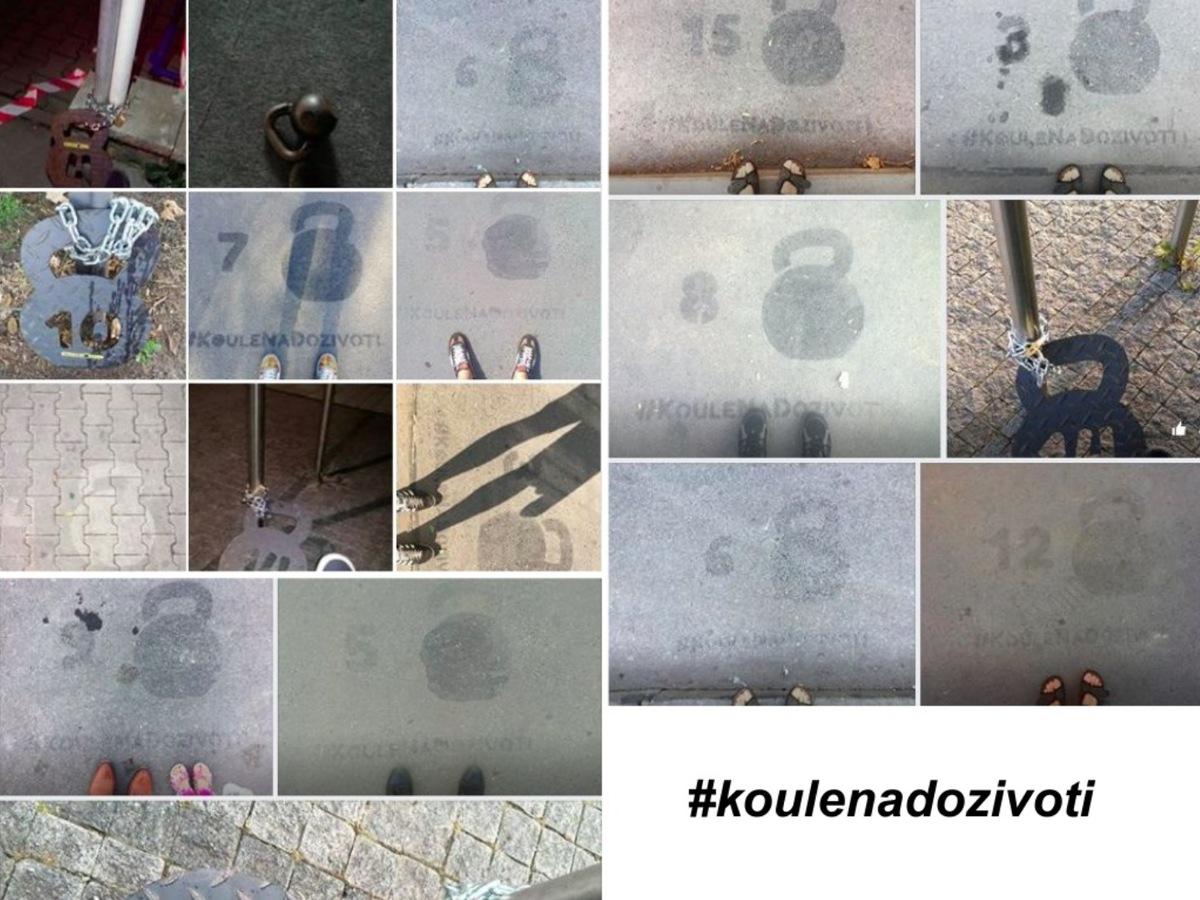 Koláž ze soutěžních fotek kampaně #koulenadozivoti