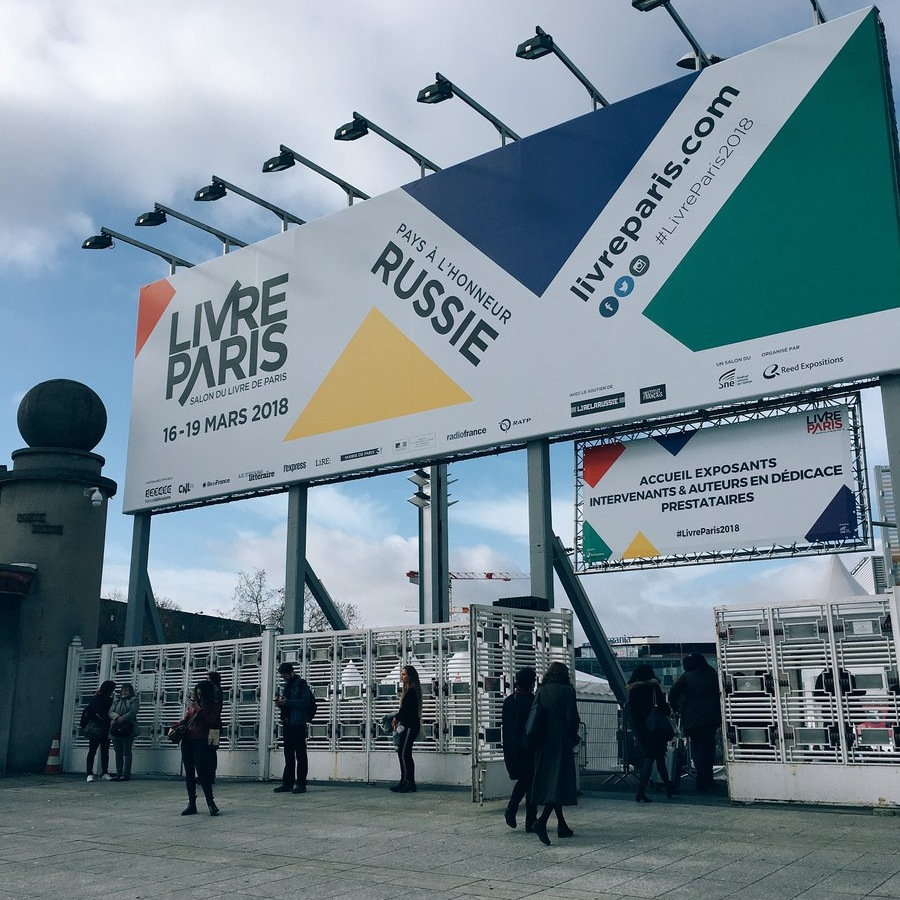 Zahájení festivalu Livre Paris 2018