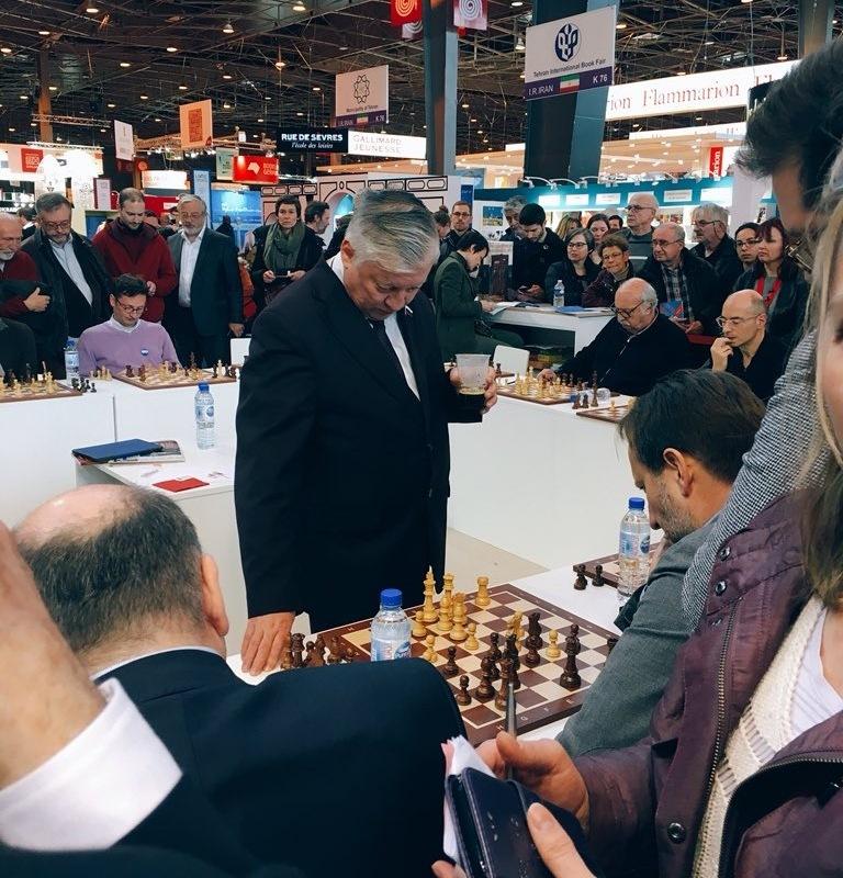 Ruský šachový mistr Anatolij Karpov
