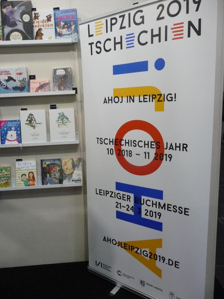 Logo s nápisem Ahoj in Leipzig!