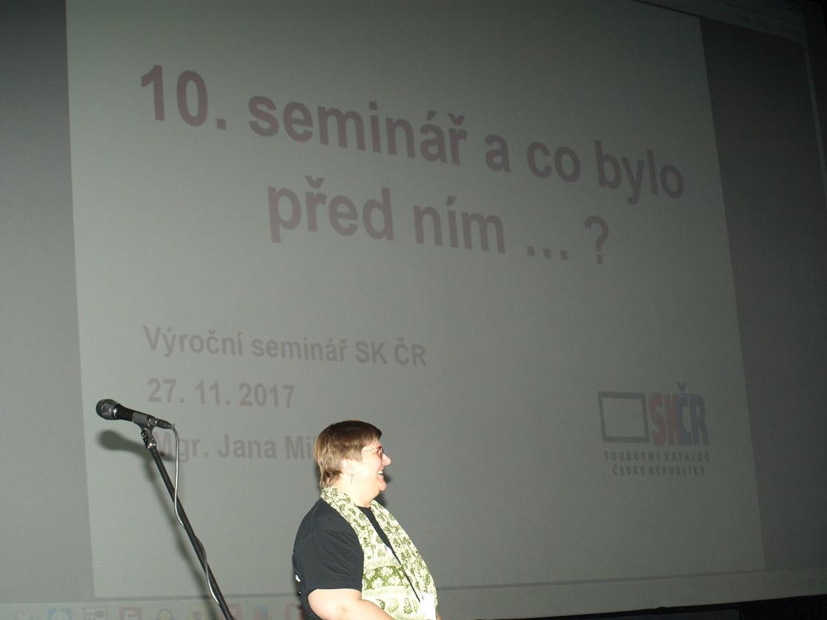 Zahájení semináře