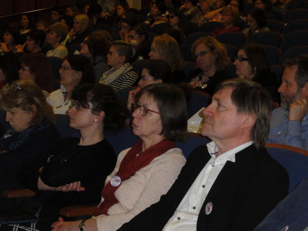 Účastníci semináře - v popředí PhDr. Vít Richter