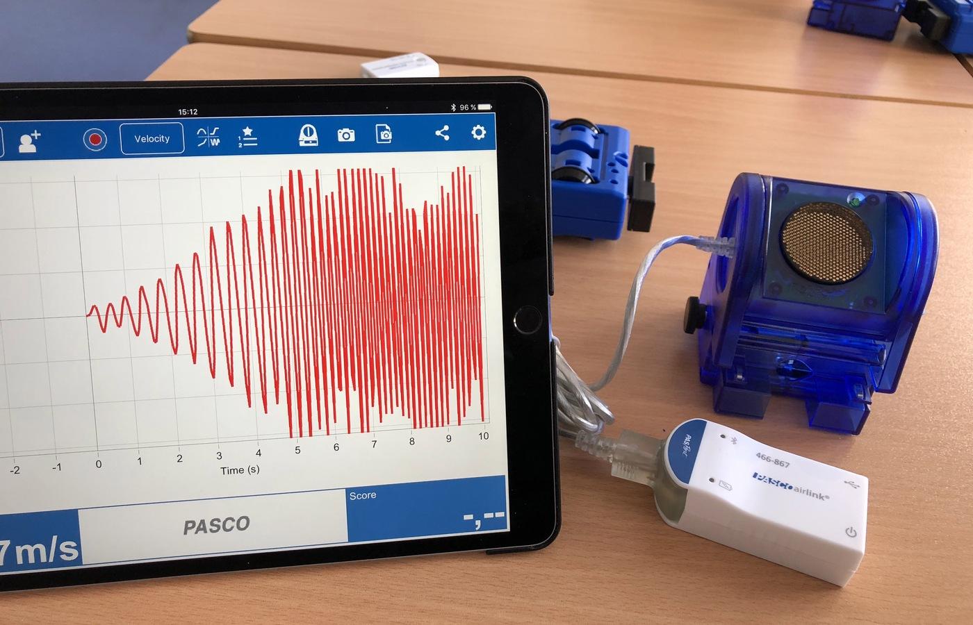 Workshop Miroslava Staňka věnovaný využití senzorů PASCO