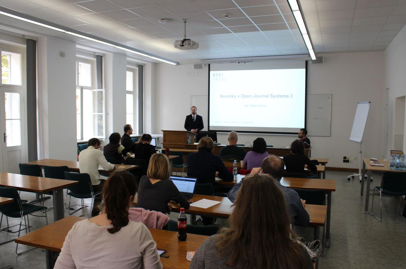 Seminář k Open Journal Systems na Univerzitě Karlově