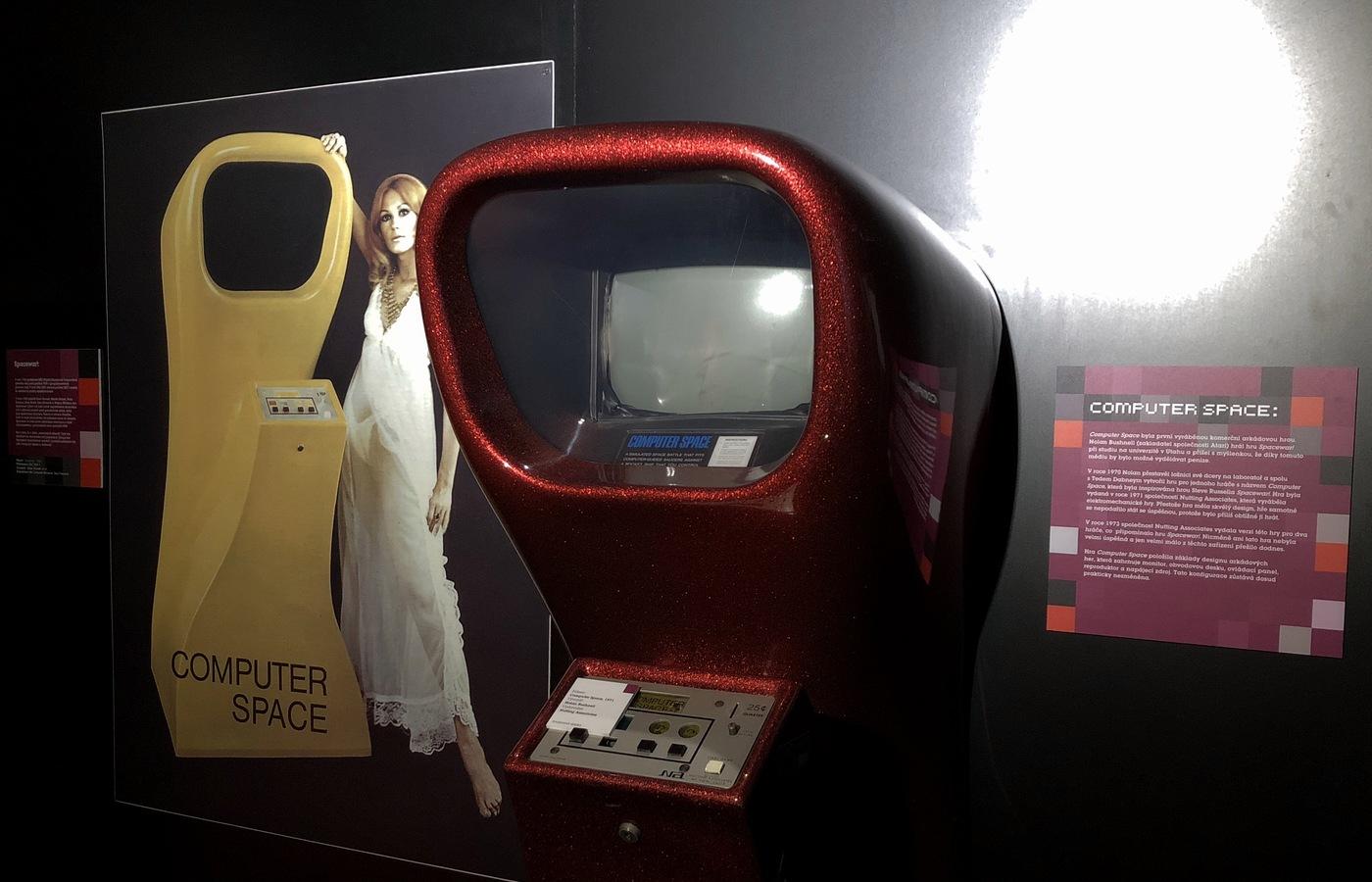 Computer Space, první komerční arkáda