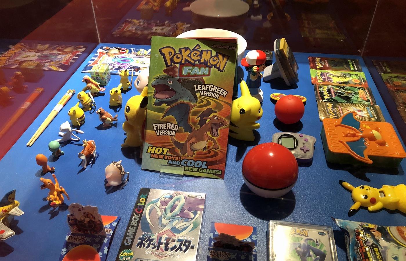 Figurky, hry a další merchandising týkající se Pokémonů