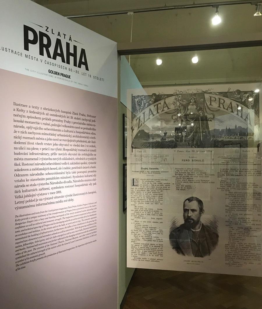 Výstava Zlatá Praha