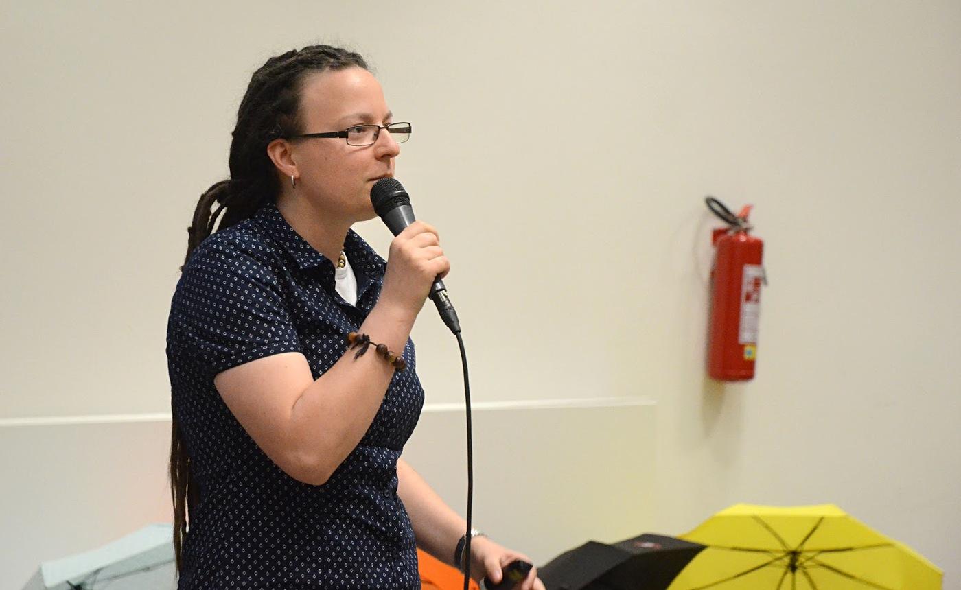 Tereza Simandlová představuje mezinárodní databázi OpanAPC