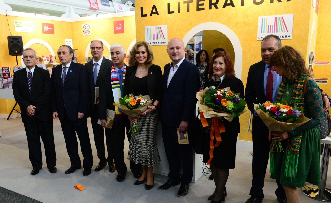 Svět knihy 2019 s podtitulem La literatura