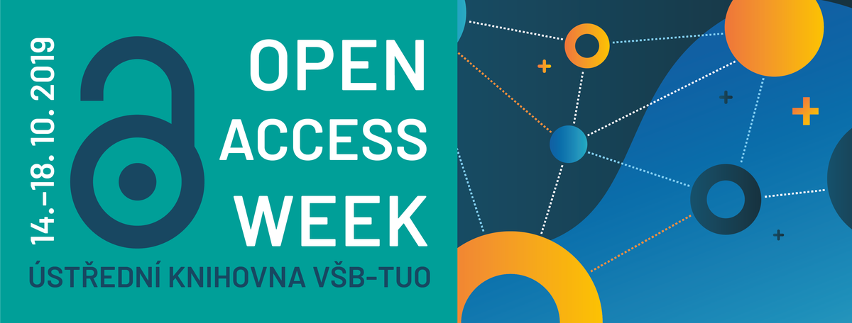 Logo Open Access Week 2019 na VŠB-TU Ostrava