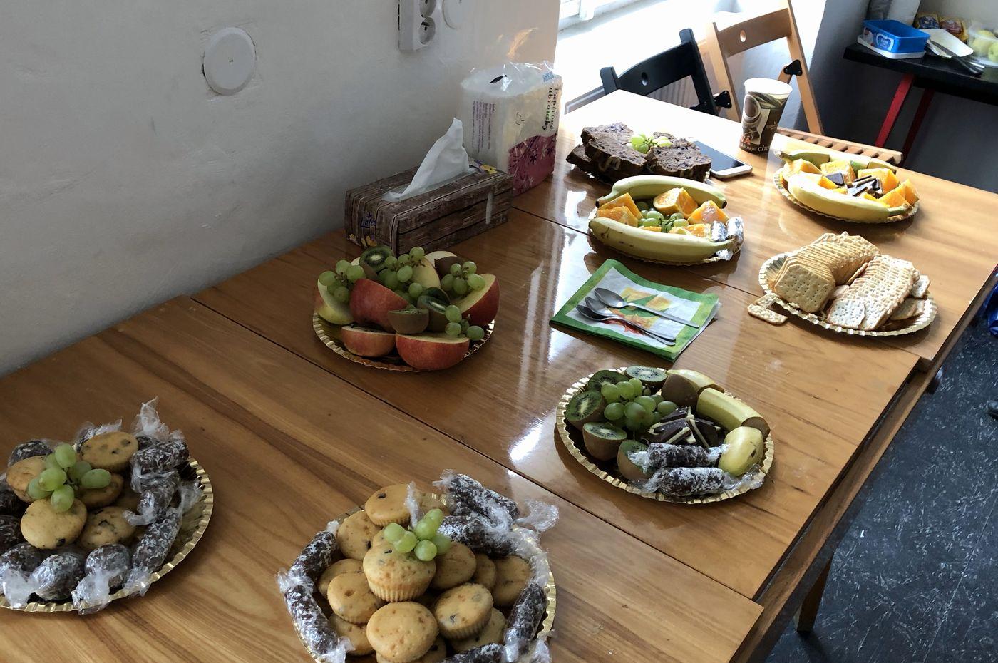 Krátká přestávka na občerstvení