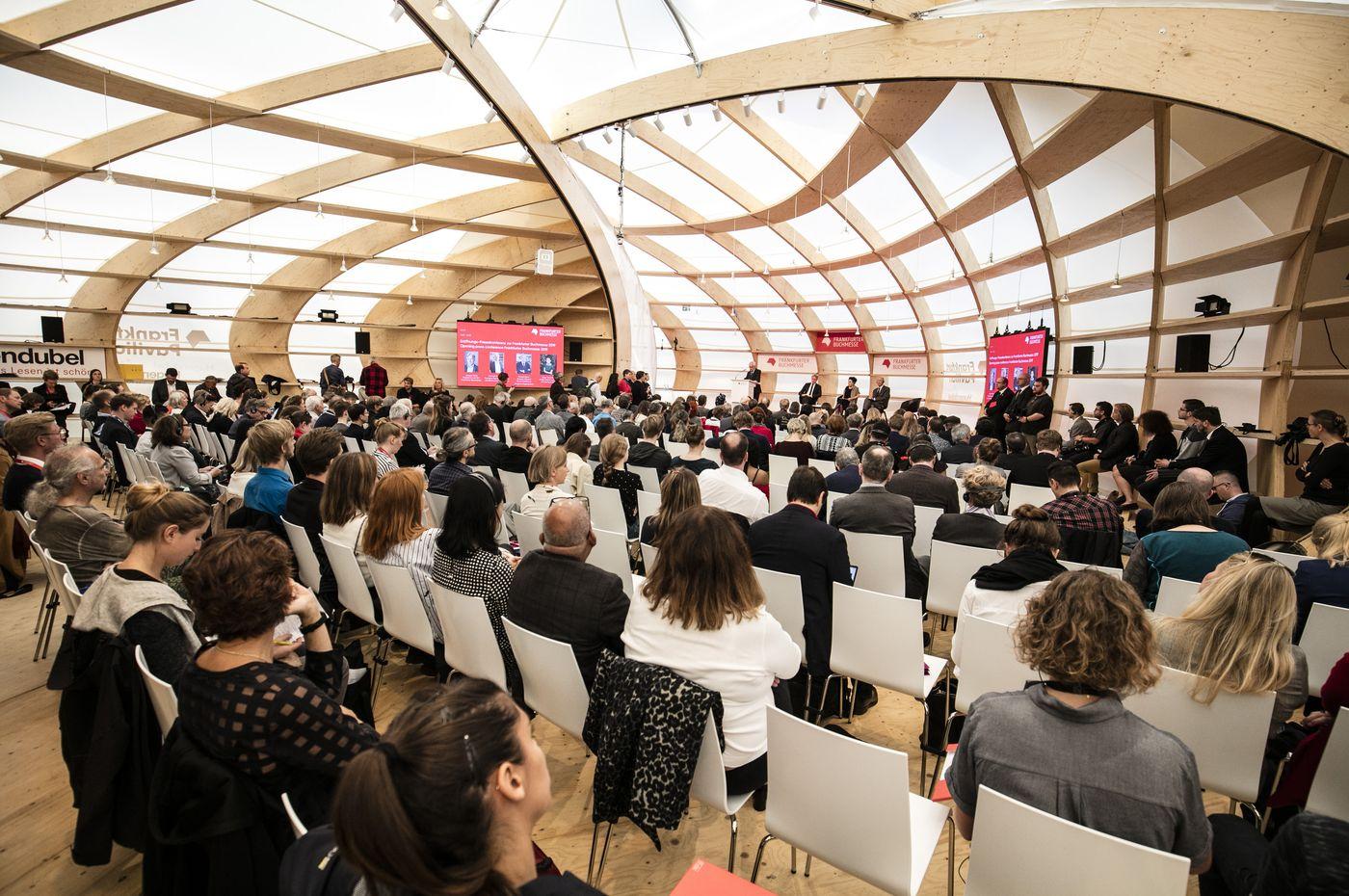Frankfurtský knižní veletrh 2019 (úvodní tisková konference)
