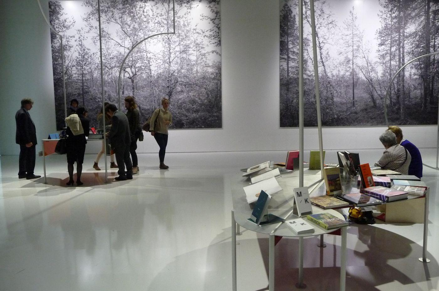 Expozici doplňovaly černobílé fotografie norské přírody