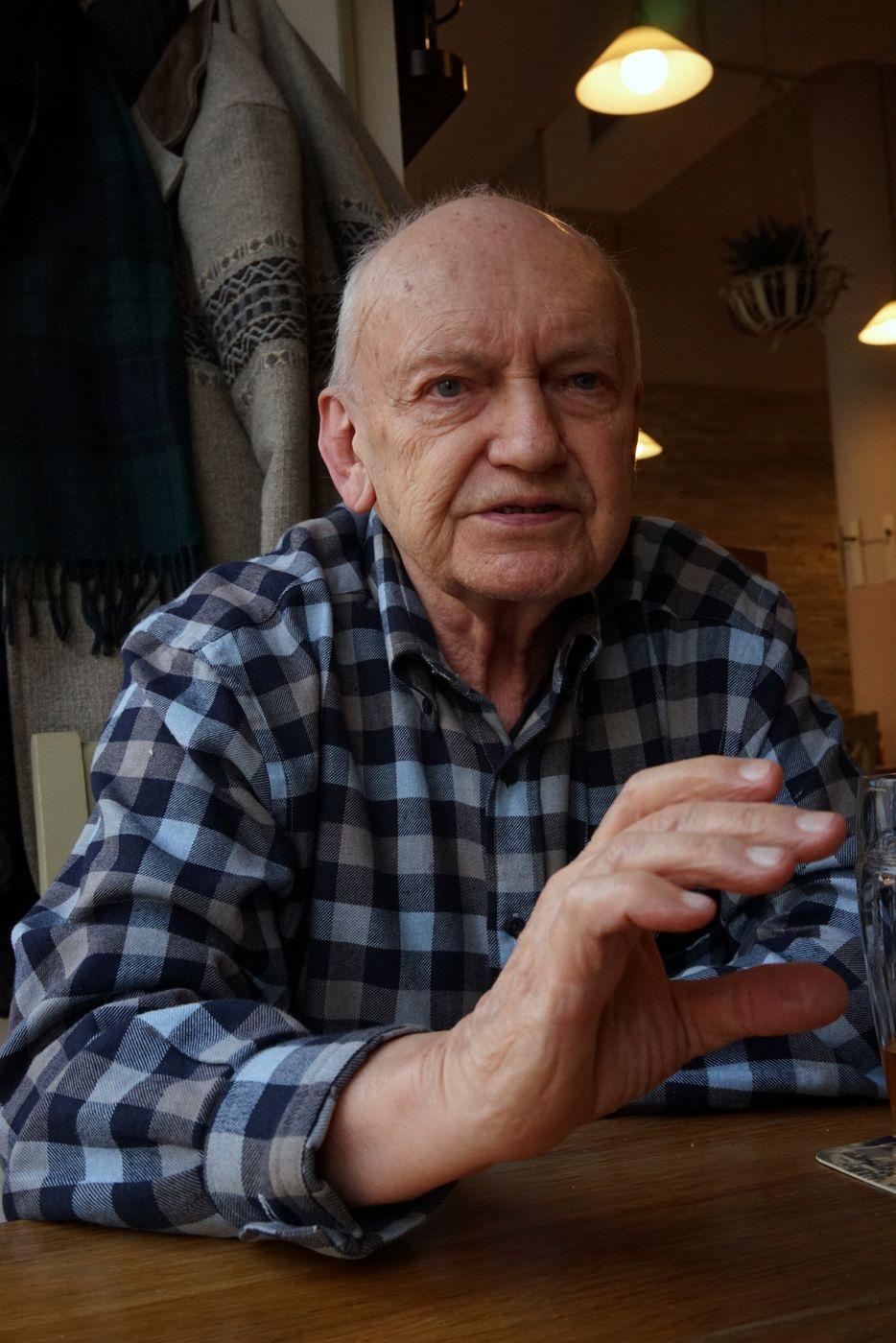 Autor memoáru, doc. PhDr. Rudolf Vlasák